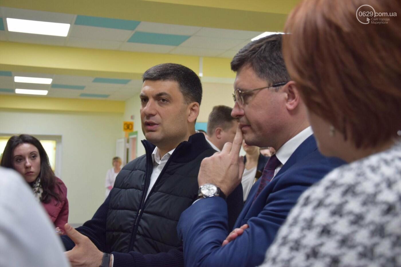 В Мариуполе Владимир Гройсман открыл детскую поликлинику и познакомился с Сережей, - ФОТОРЕПОРТАЖ, ВИДЕО, фото-35