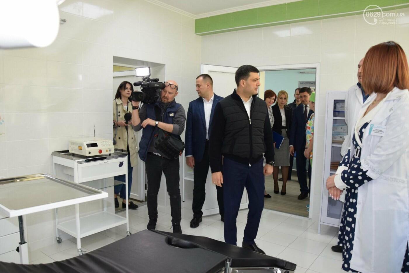 В Мариуполе Владимир Гройсман открыл детскую поликлинику и познакомился с Сережей, - ФОТОРЕПОРТАЖ, ВИДЕО, фото-36