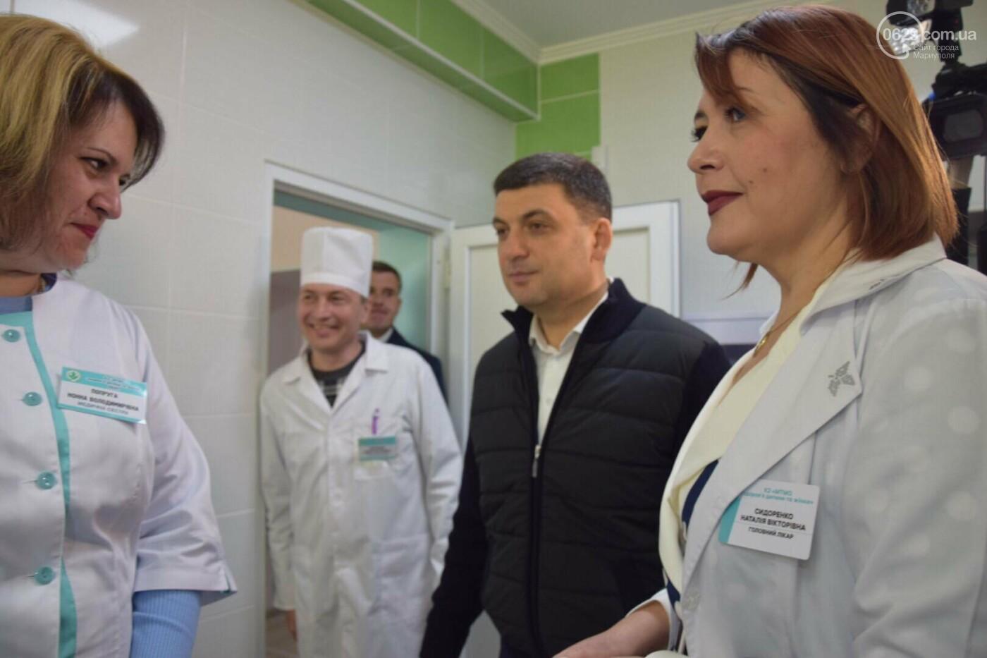 В Мариуполе Владимир Гройсман открыл детскую поликлинику и познакомился с Сережей, - ФОТОРЕПОРТАЖ, ВИДЕО, фото-51