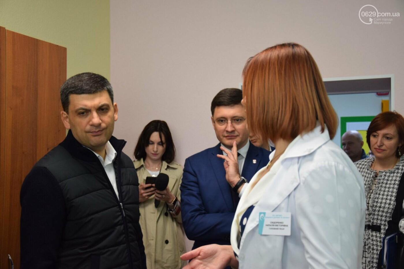 В Мариуполе Владимир Гройсман открыл детскую поликлинику и познакомился с Сережей, - ФОТОРЕПОРТАЖ, ВИДЕО, фото-37