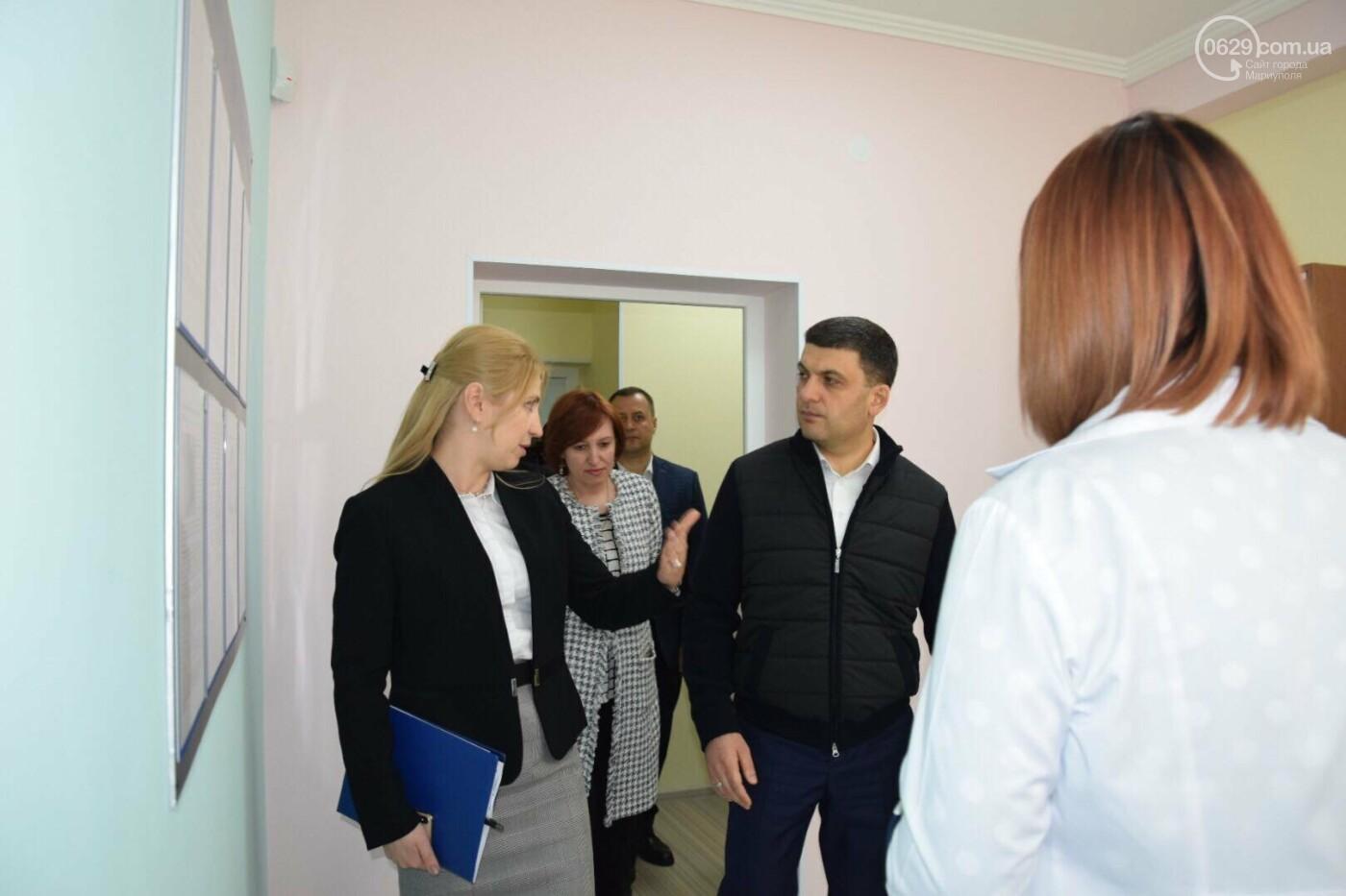 В Мариуполе Владимир Гройсман открыл детскую поликлинику и познакомился с Сережей, - ФОТОРЕПОРТАЖ, ВИДЕО, фото-39