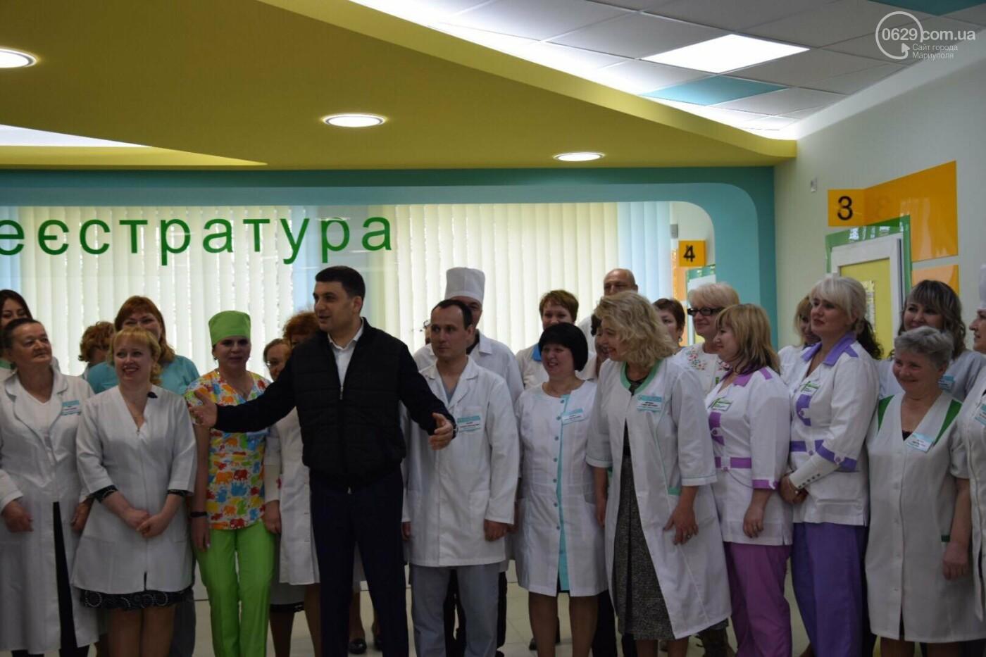 В Мариуполе Владимир Гройсман открыл детскую поликлинику и познакомился с Сережей, - ФОТОРЕПОРТАЖ, ВИДЕО, фото-40