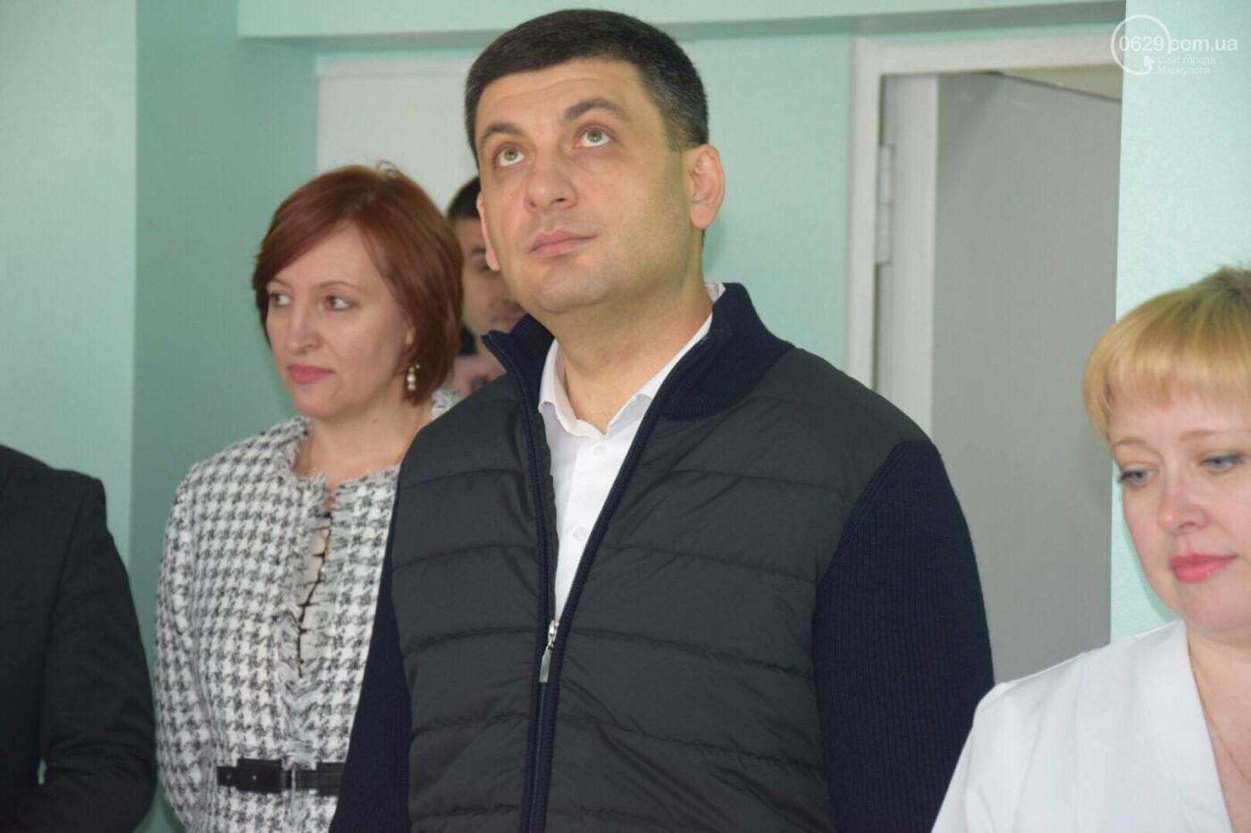 В Мариуполе Владимир Гройсман открыл детскую поликлинику и познакомился с Сережей, - ФОТОРЕПОРТАЖ, ВИДЕО, фото-41