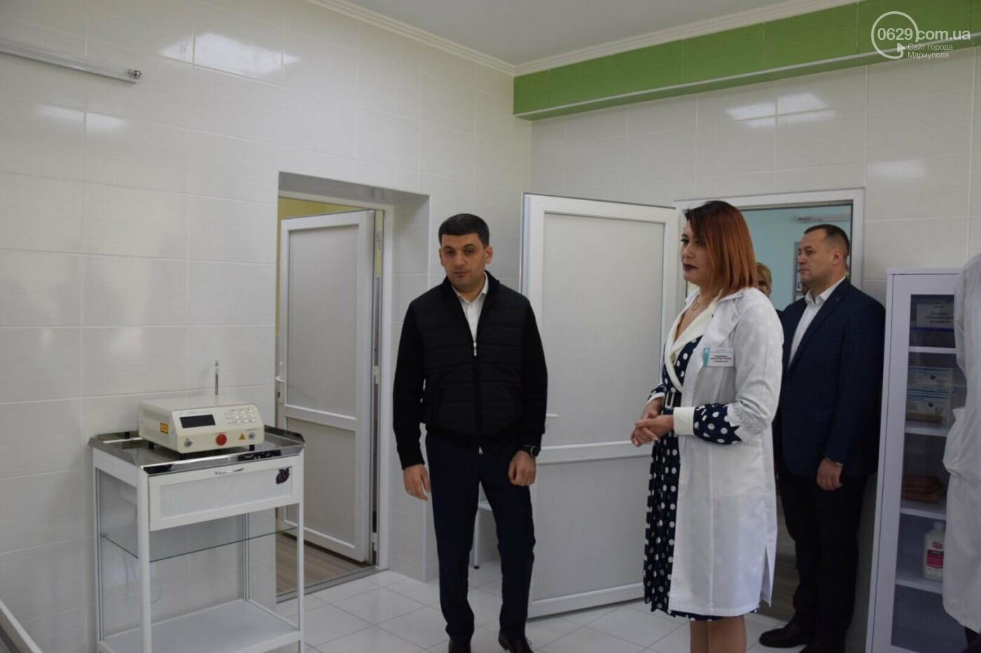 В Мариуполе Владимир Гройсман открыл детскую поликлинику и познакомился с Сережей, - ФОТОРЕПОРТАЖ, ВИДЕО, фото-43