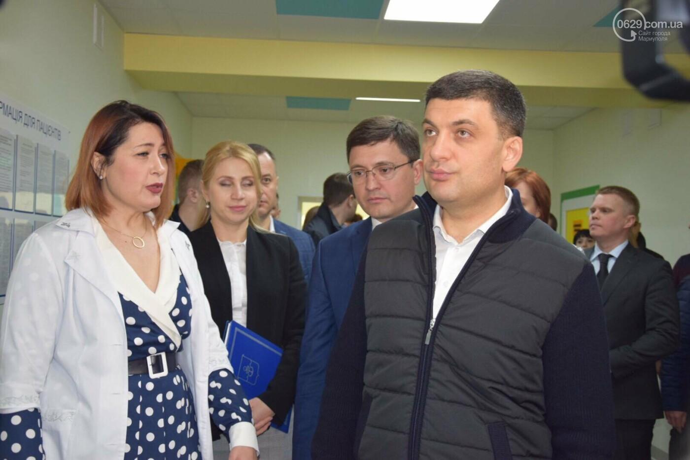 В Мариуполе Владимир Гройсман открыл детскую поликлинику и познакомился с Сережей, - ФОТОРЕПОРТАЖ, ВИДЕО, фото-42
