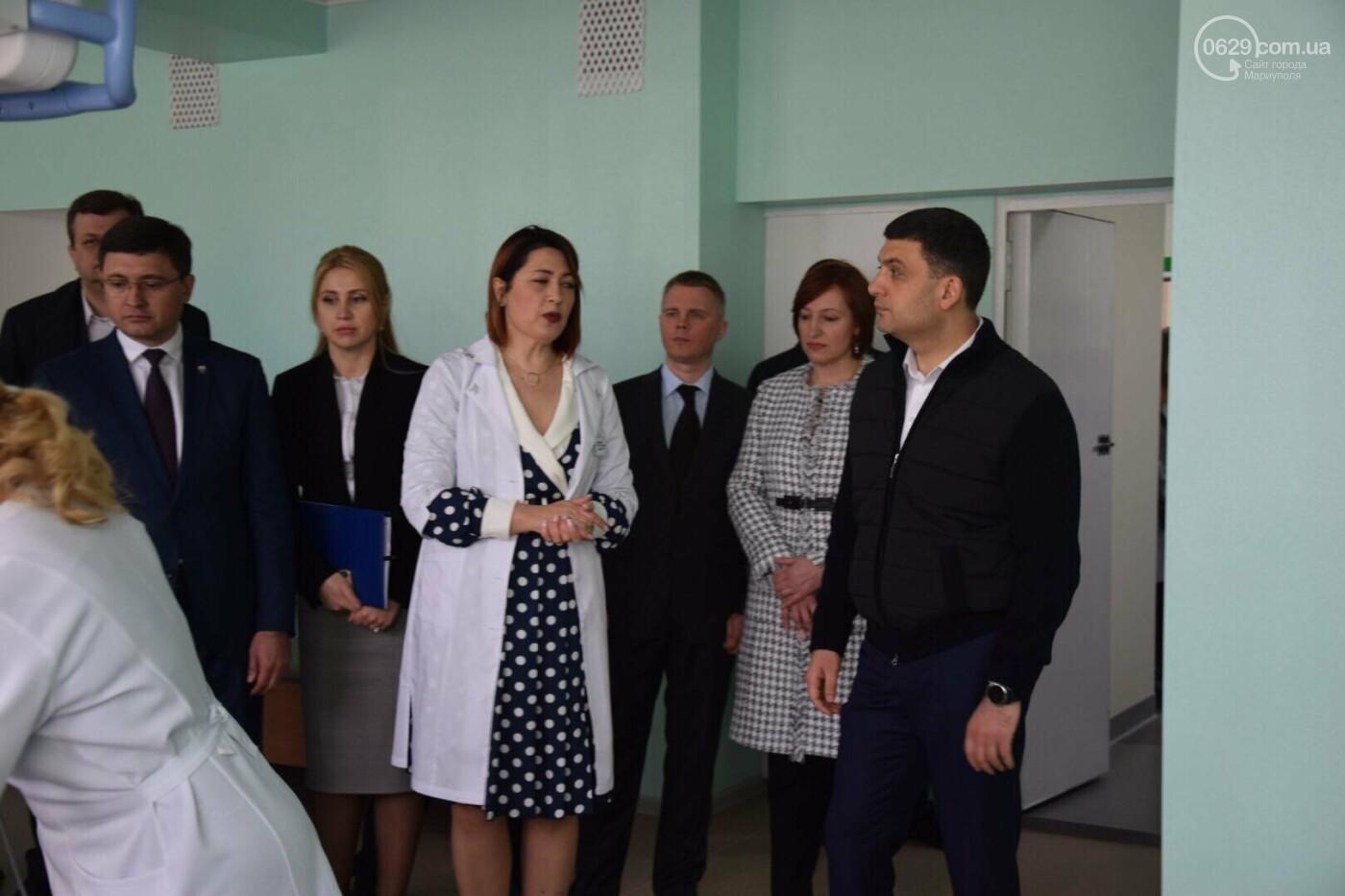 В Мариуполе Владимир Гройсман открыл детскую поликлинику и познакомился с Сережей, - ФОТОРЕПОРТАЖ, ВИДЕО, фото-49