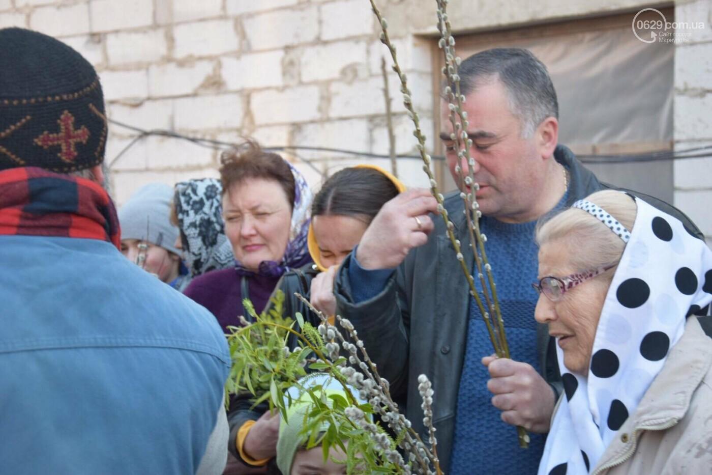Выборы и верба: как Мариуполь празднует православный праздник, - ФОТОРЕПОРТАЖ, фото-12