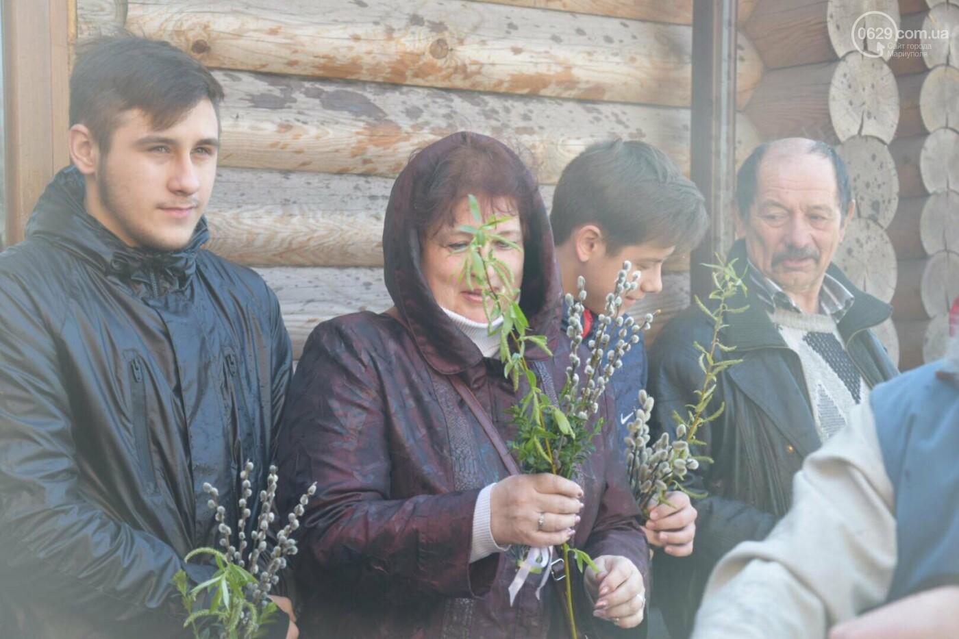 Выборы и верба: как Мариуполь празднует православный праздник, - ФОТОРЕПОРТАЖ, фото-14