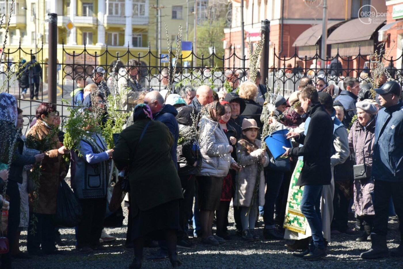 Выборы и верба: как Мариуполь празднует православный праздник, - ФОТОРЕПОРТАЖ, фото-15