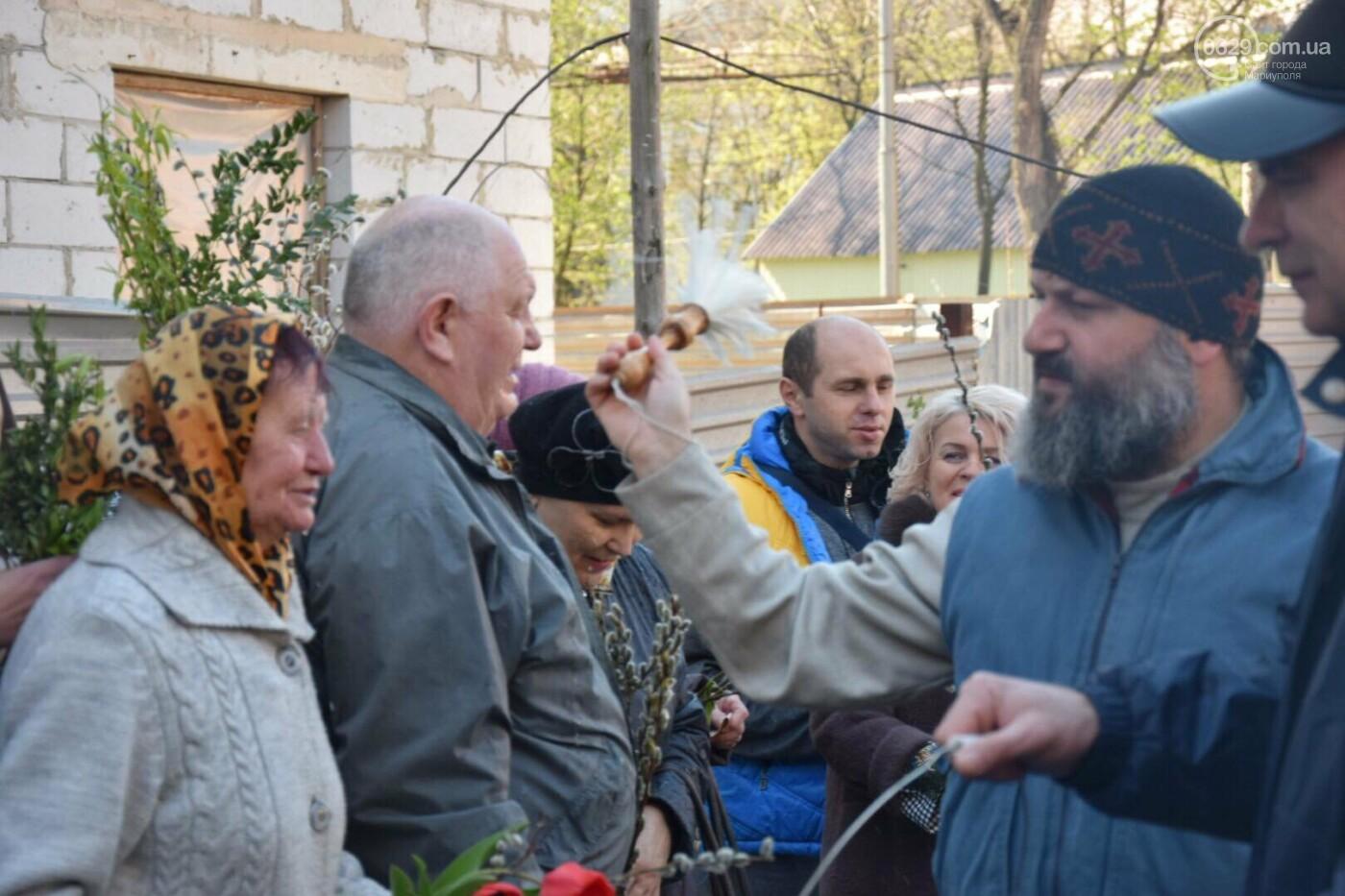Выборы и верба: как Мариуполь празднует православный праздник, - ФОТОРЕПОРТАЖ, фото-6