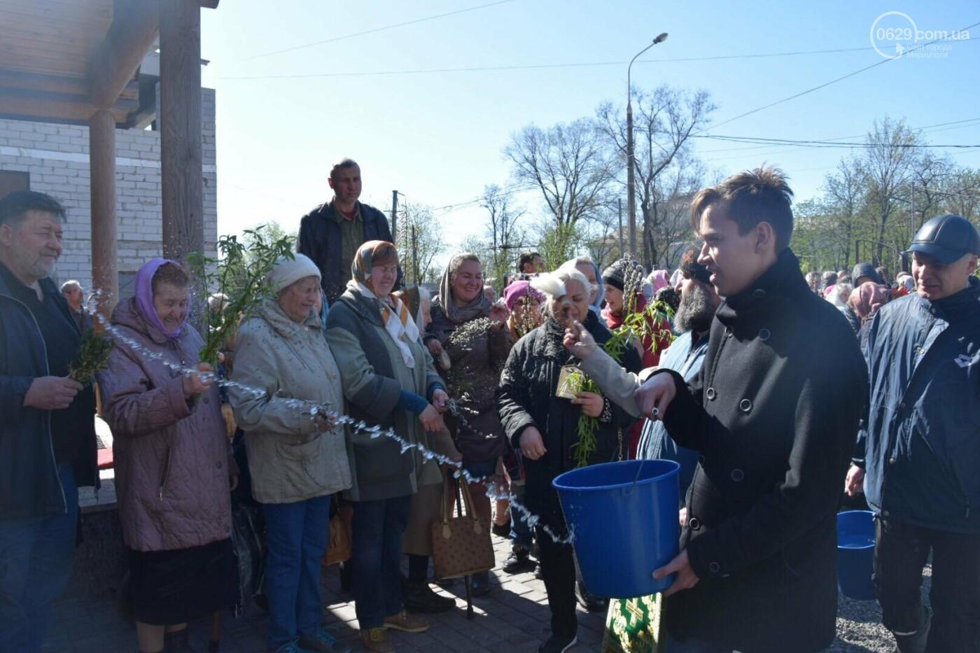 Выборы и верба: как Мариуполь празднует православный праздник, - ФОТОРЕПОРТАЖ, фото-18