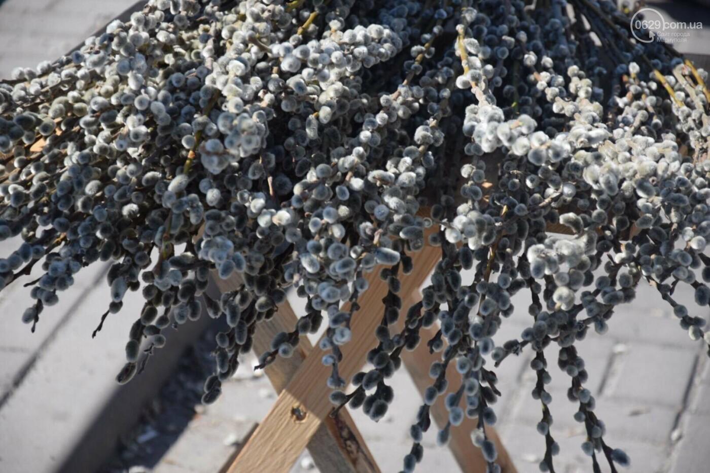 Выборы и верба: как Мариуполь празднует православный праздник, - ФОТОРЕПОРТАЖ, фото-1