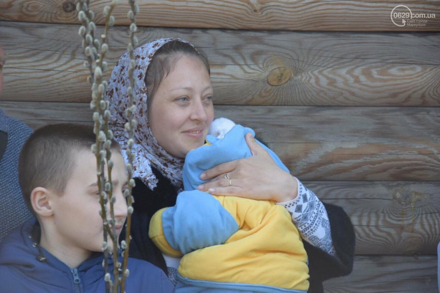 Выборы и верба: как Мариуполь празднует православный праздник, - ФОТОРЕПОРТАЖ, фото-17
