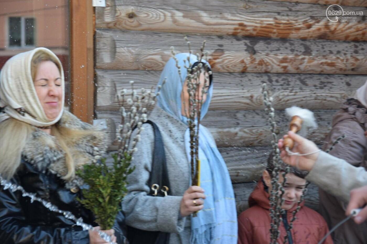 Выборы и верба: как Мариуполь празднует православный праздник, - ФОТОРЕПОРТАЖ, фото-19