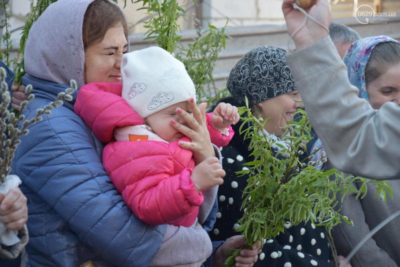 Выборы и верба: как Мариуполь празднует православный праздник, - ФОТОРЕПОРТАЖ, фото-20