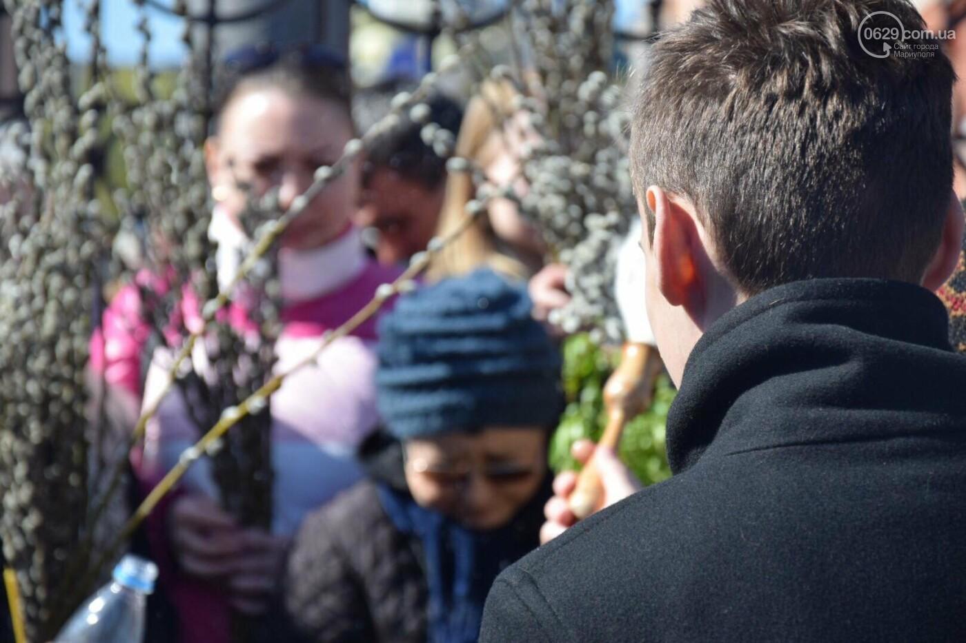 Выборы и верба: как Мариуполь празднует православный праздник, - ФОТОРЕПОРТАЖ, фото-21