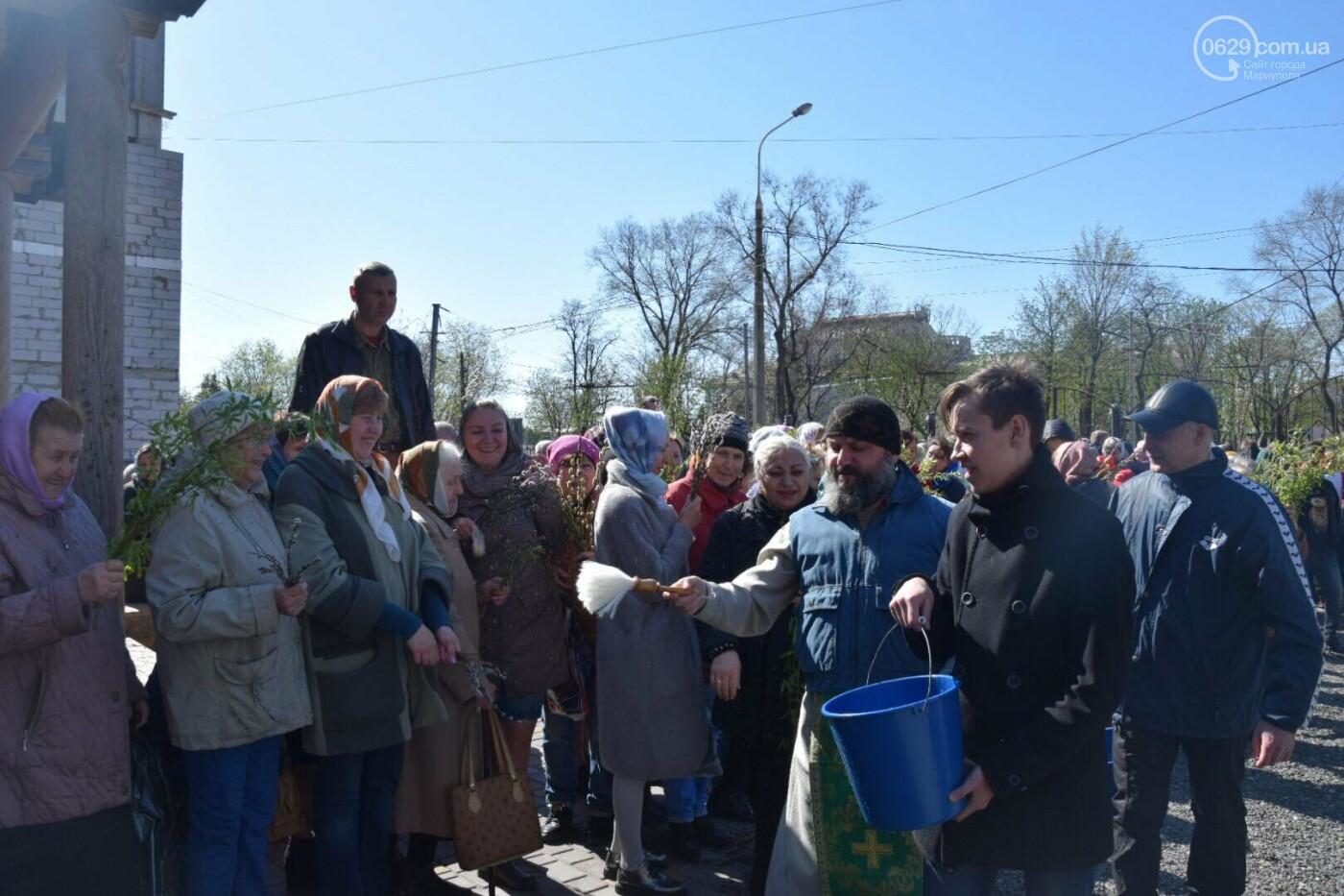 Выборы и верба: как Мариуполь празднует православный праздник, - ФОТОРЕПОРТАЖ, фото-22