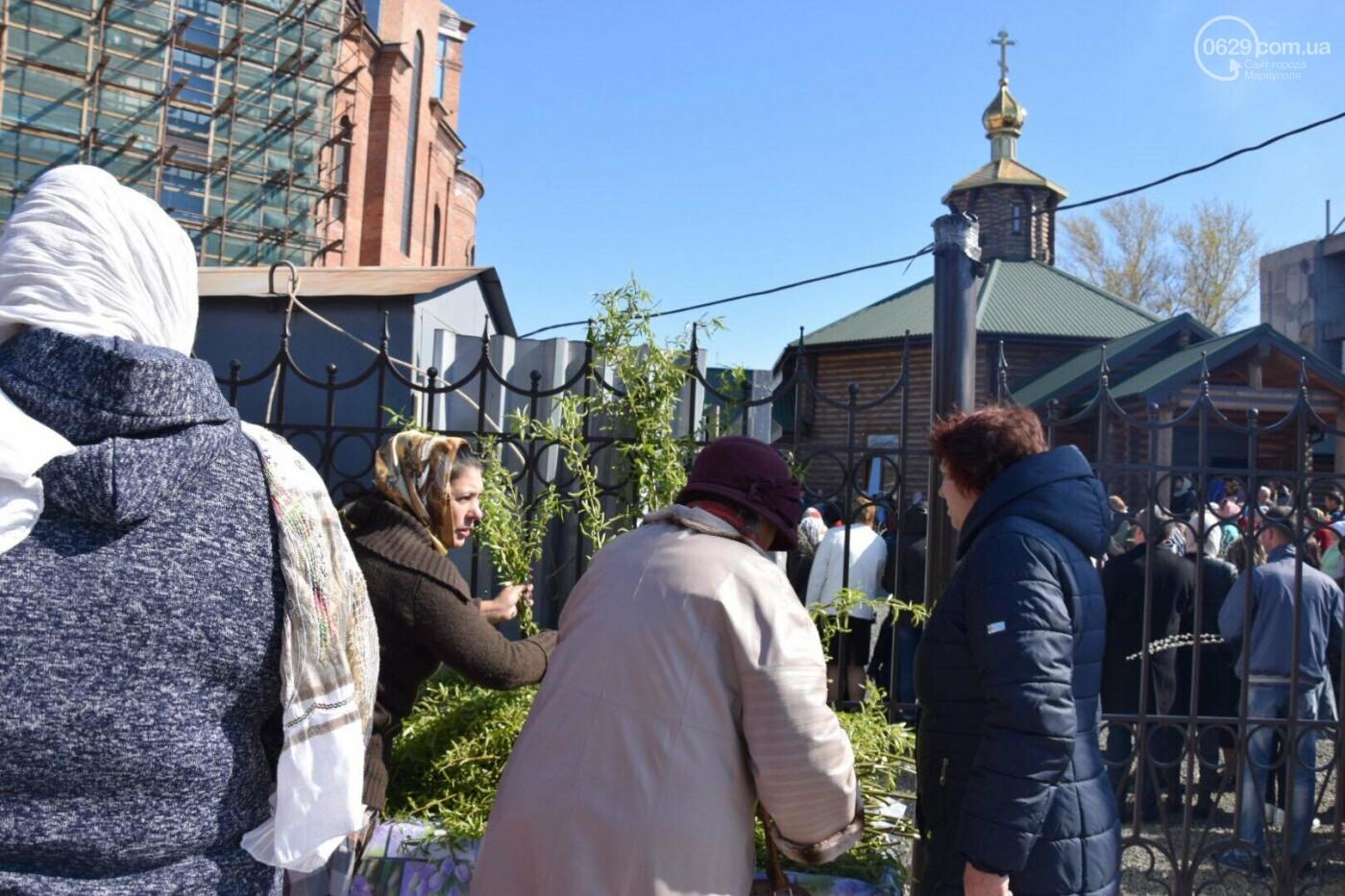 Выборы и верба: как Мариуполь празднует православный праздник, - ФОТОРЕПОРТАЖ, фото-24