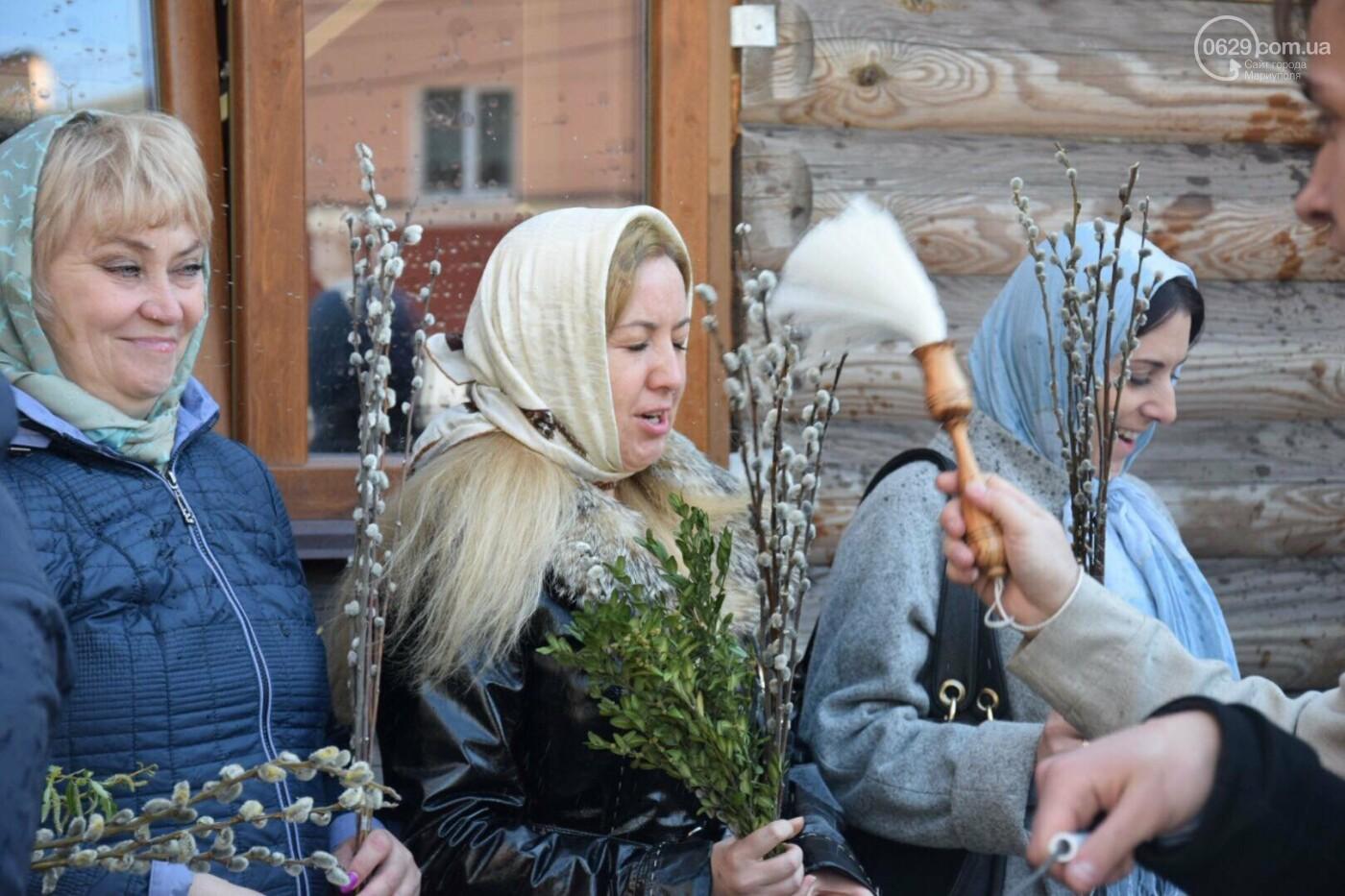 Выборы и верба: как Мариуполь празднует православный праздник, - ФОТОРЕПОРТАЖ, фото-25