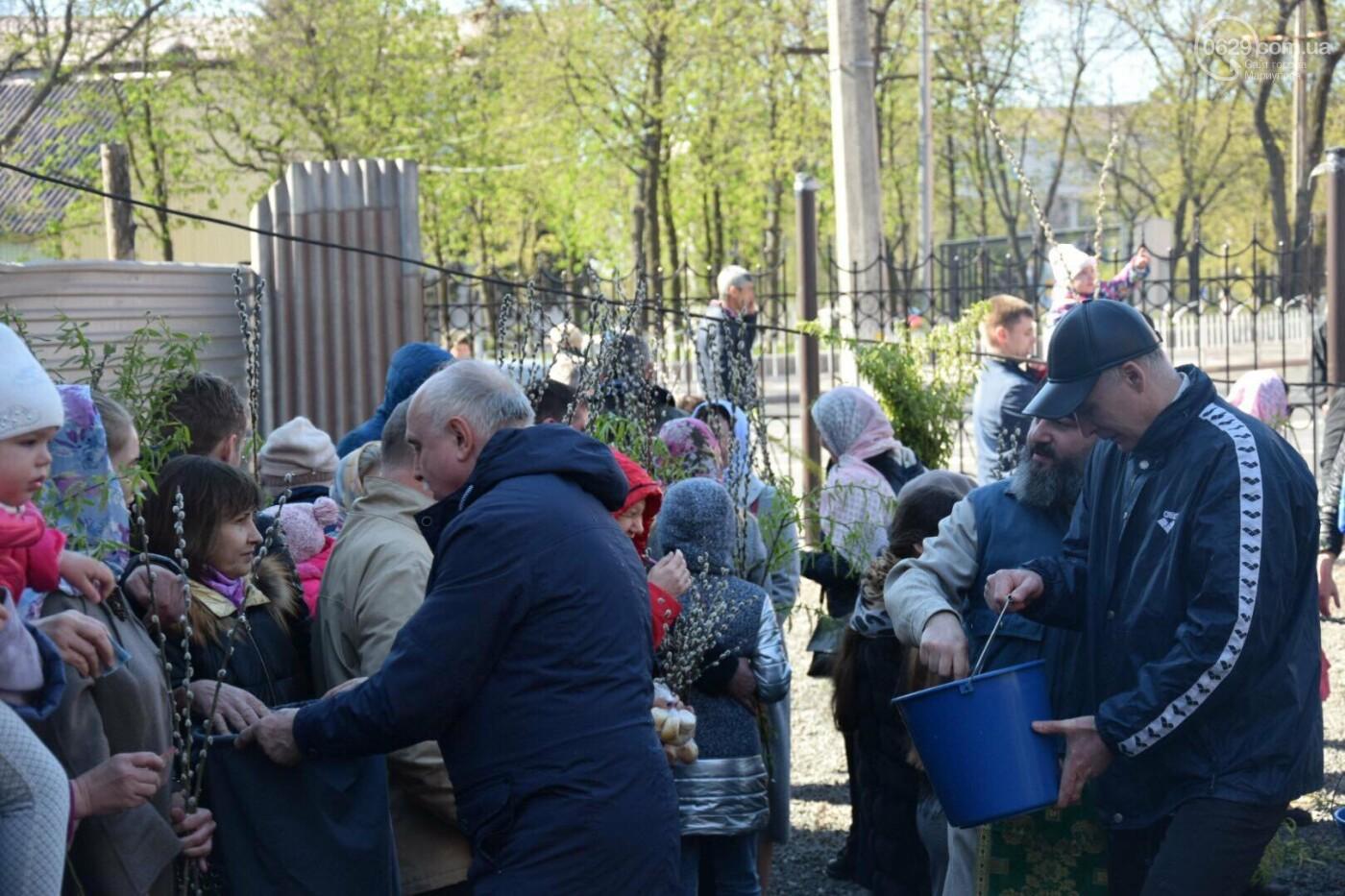 Выборы и верба: как Мариуполь празднует православный праздник, - ФОТОРЕПОРТАЖ, фото-26