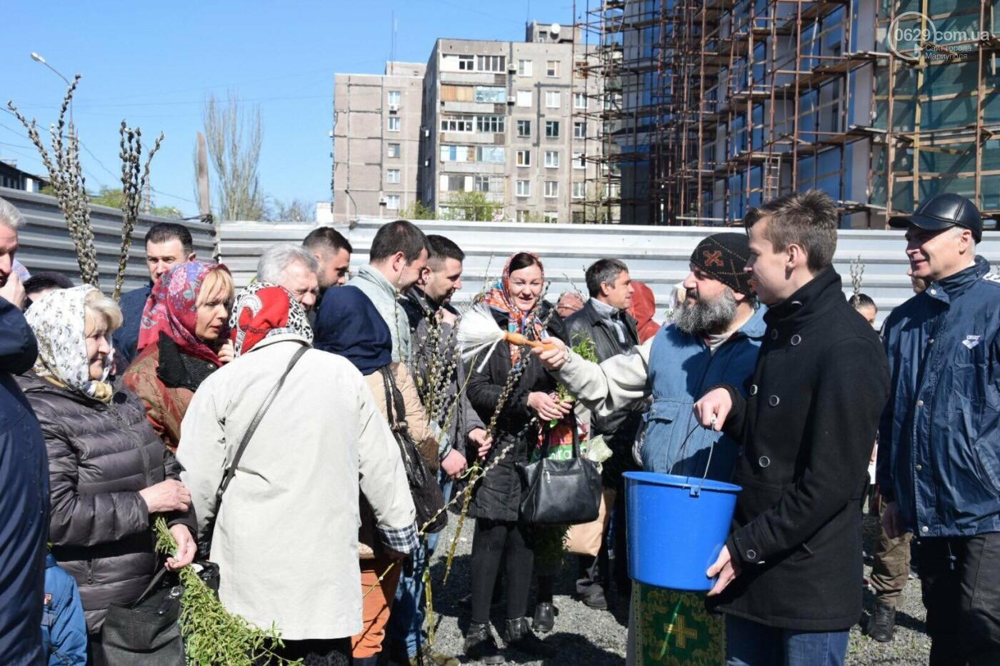Выборы и верба: как Мариуполь празднует православный праздник, - ФОТОРЕПОРТАЖ, фото-28