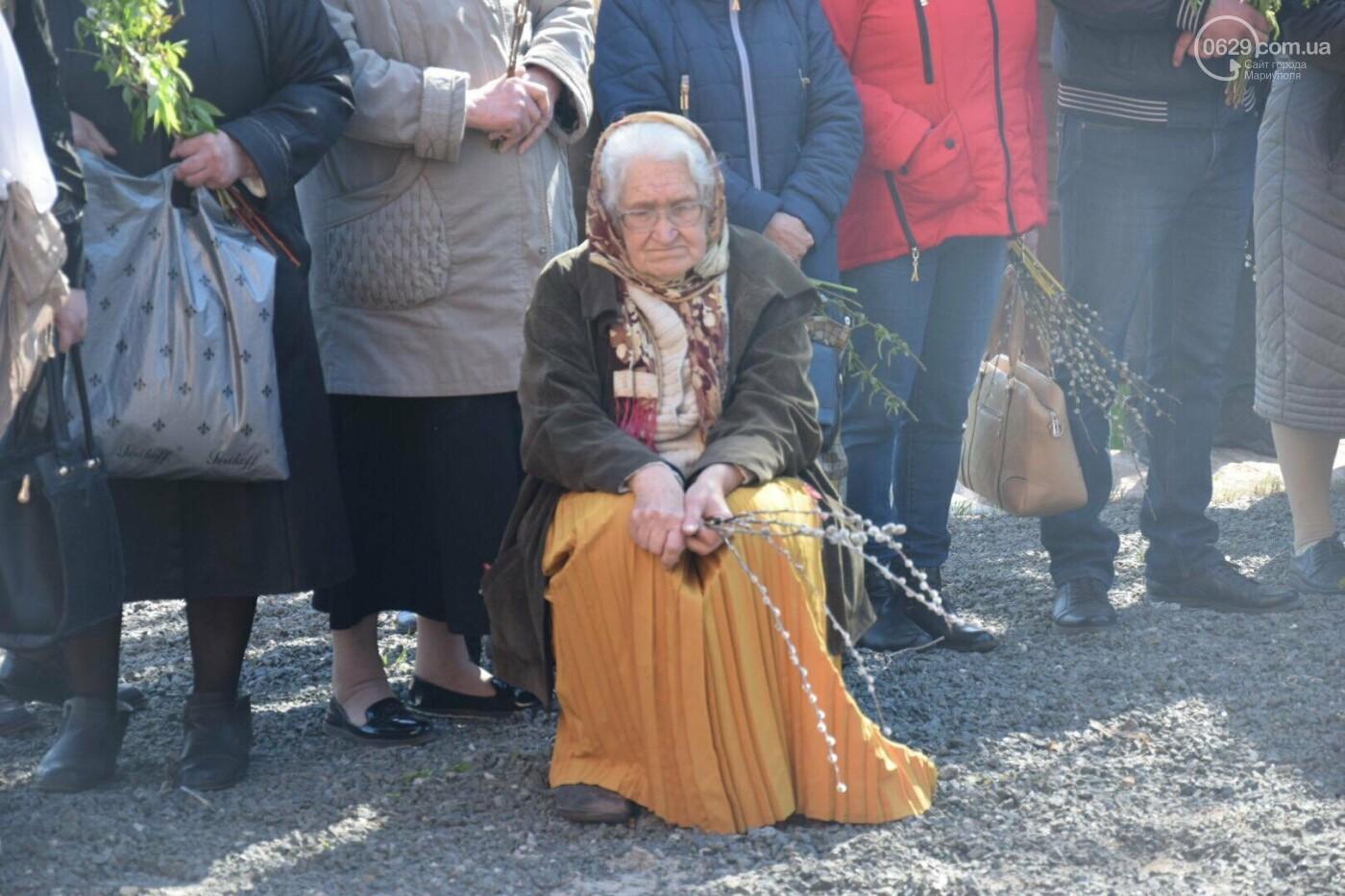Выборы и верба: как Мариуполь празднует православный праздник, - ФОТОРЕПОРТАЖ, фото-32