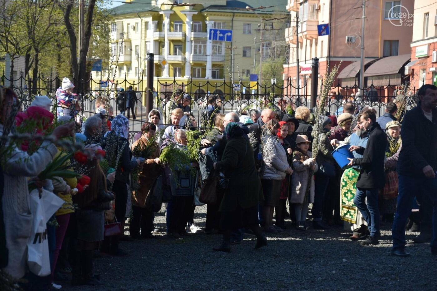 Выборы и верба: как Мариуполь празднует православный праздник, - ФОТОРЕПОРТАЖ, фото-36