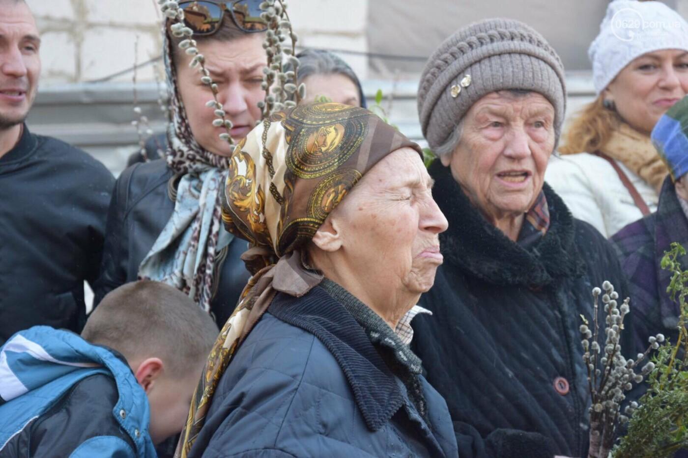 Выборы и верба: как Мариуполь празднует православный праздник, - ФОТОРЕПОРТАЖ, фото-5