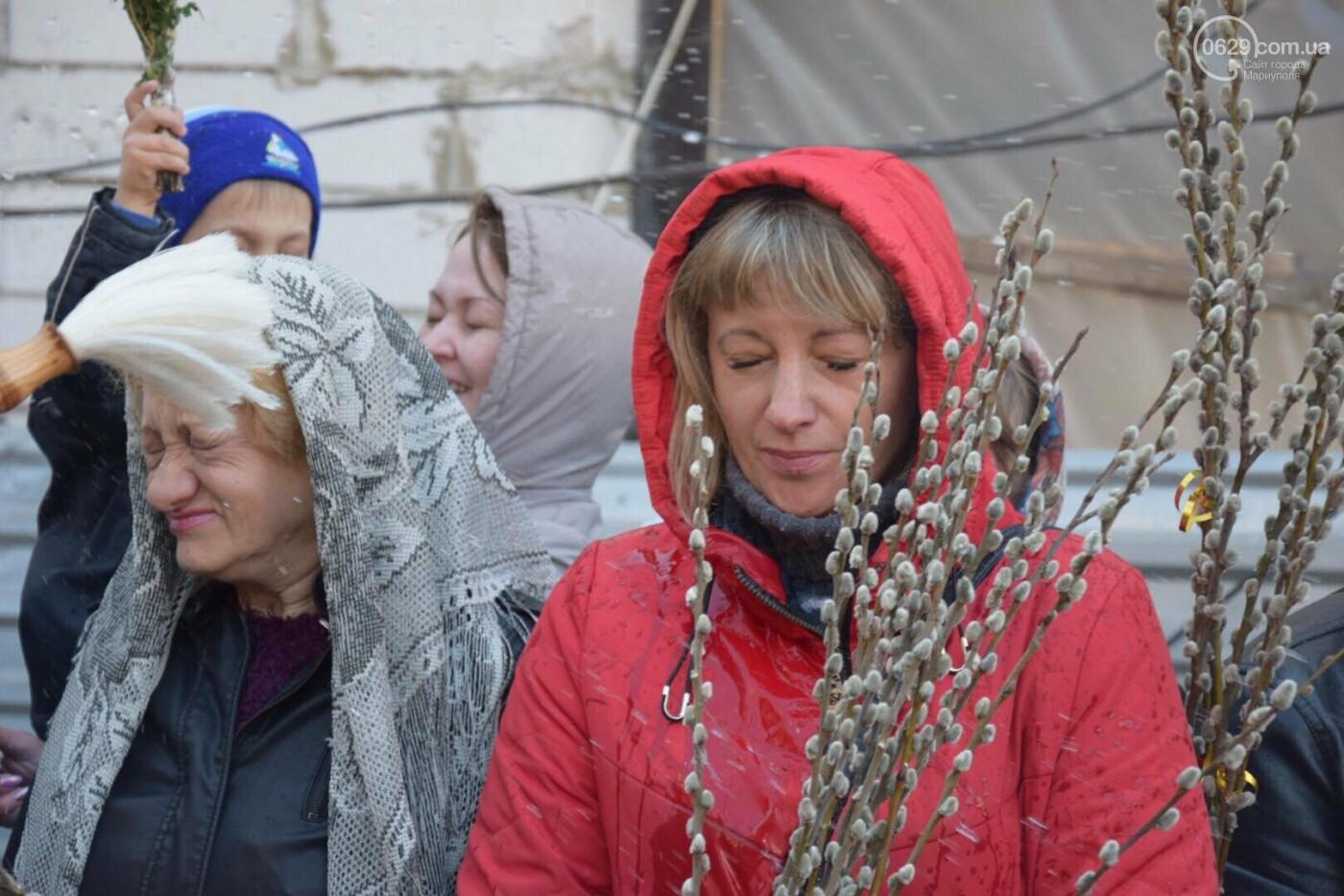 Выборы и верба: как Мариуполь празднует православный праздник, - ФОТОРЕПОРТАЖ, фото-8