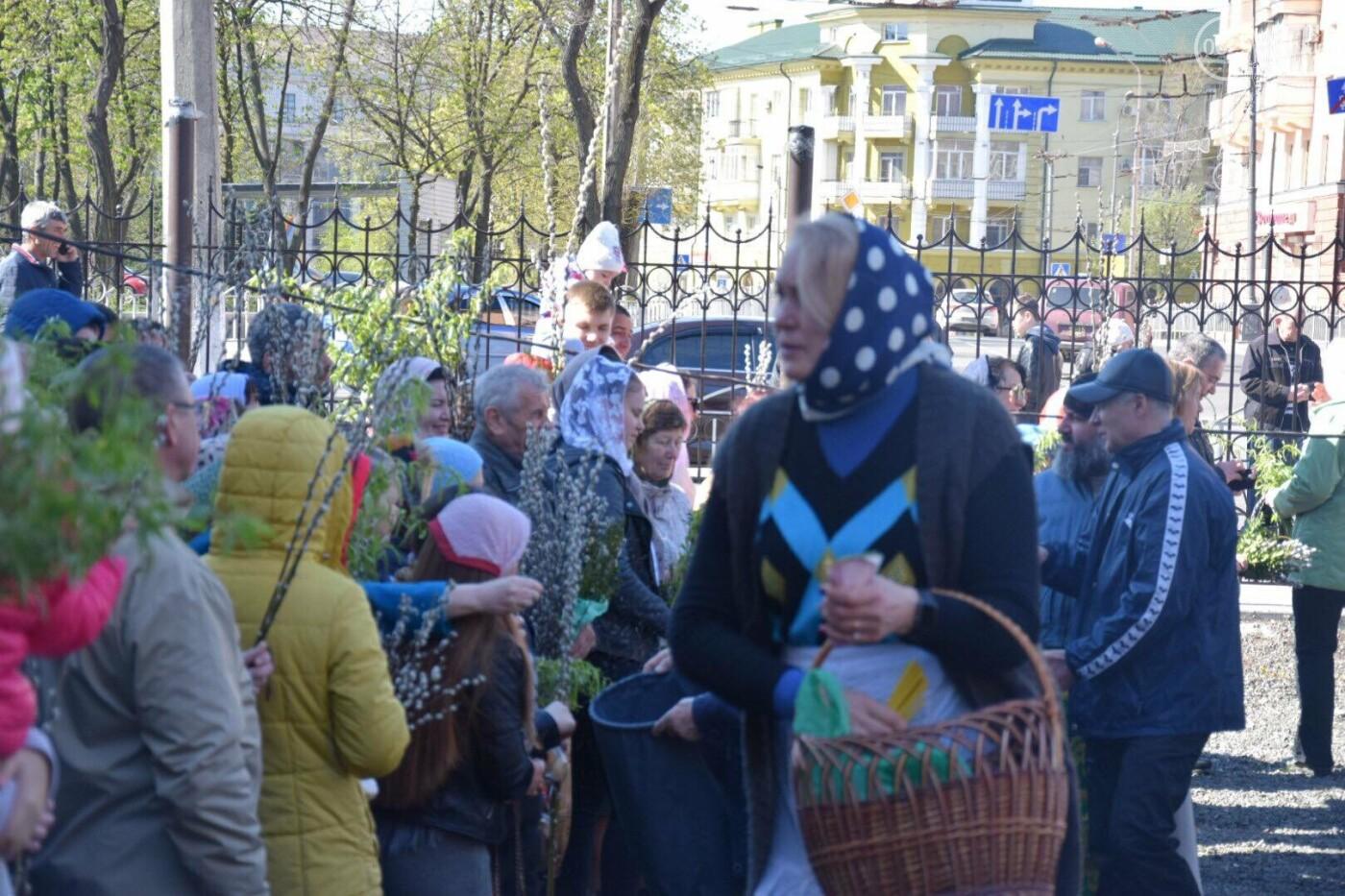 Выборы и верба: как Мариуполь празднует православный праздник, - ФОТОРЕПОРТАЖ, фото-35