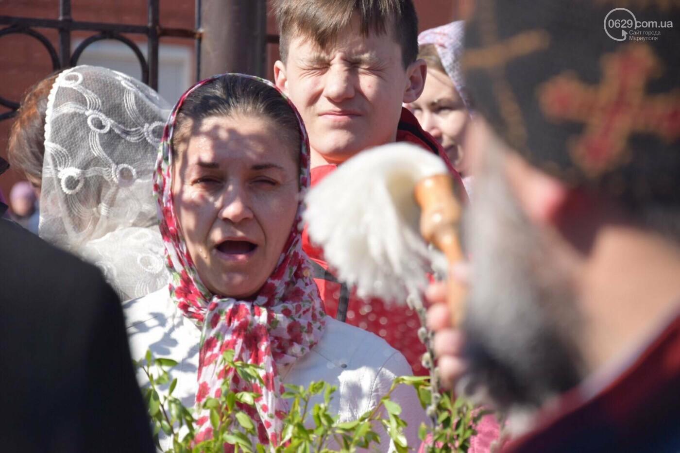 Выборы и верба: как Мариуполь празднует православный праздник, - ФОТОРЕПОРТАЖ, фото-41