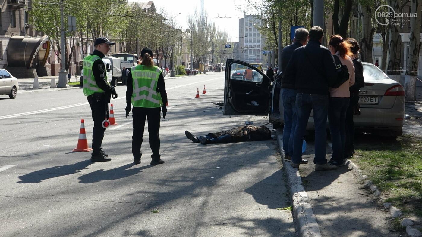 В Мариуполе «Форд» врезался в столб. Водитель погиб, - ФОТО, ВИДЕО, 18+, фото-19