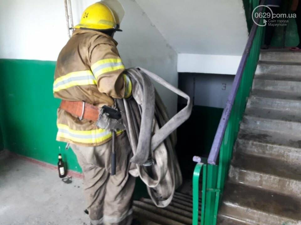 В Мариуполе случился пожар в квартире беспомощной пенсионерки, - ФОТО, фото-2
