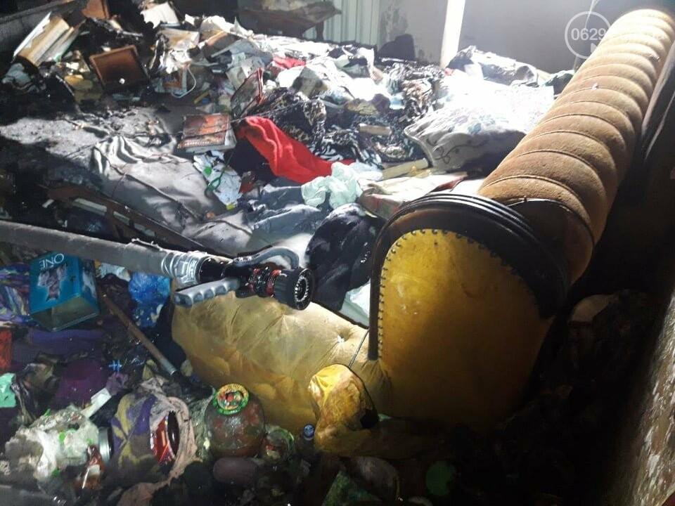 В Мариуполе случился пожар в квартире беспомощной пенсионерки, - ФОТО, фото-4