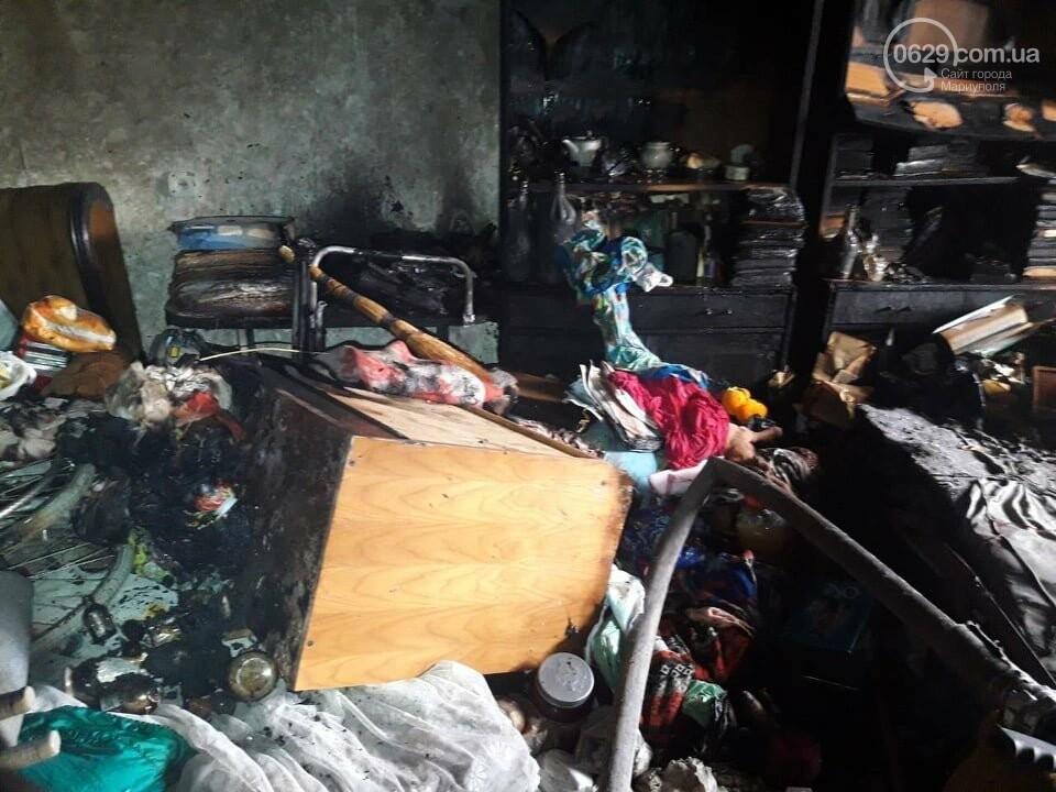 В Мариуполе случился пожар в квартире беспомощной пенсионерки, - ФОТО, фото-3