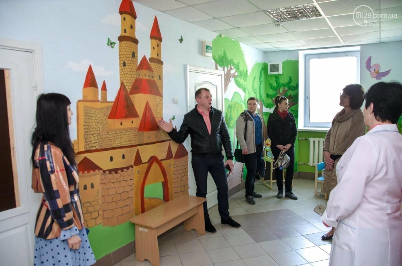Герои сказок на стенах: маленькие жители Талаковки и Сартаны получили обновленную амбулаторию,- ФОТО, фото-7