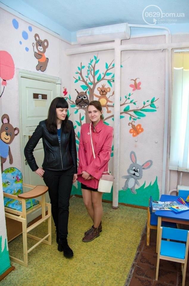Герои сказок на стенах: маленькие жители Талаковки и Сартаны получили обновленную амбулаторию,- ФОТО, фото-1