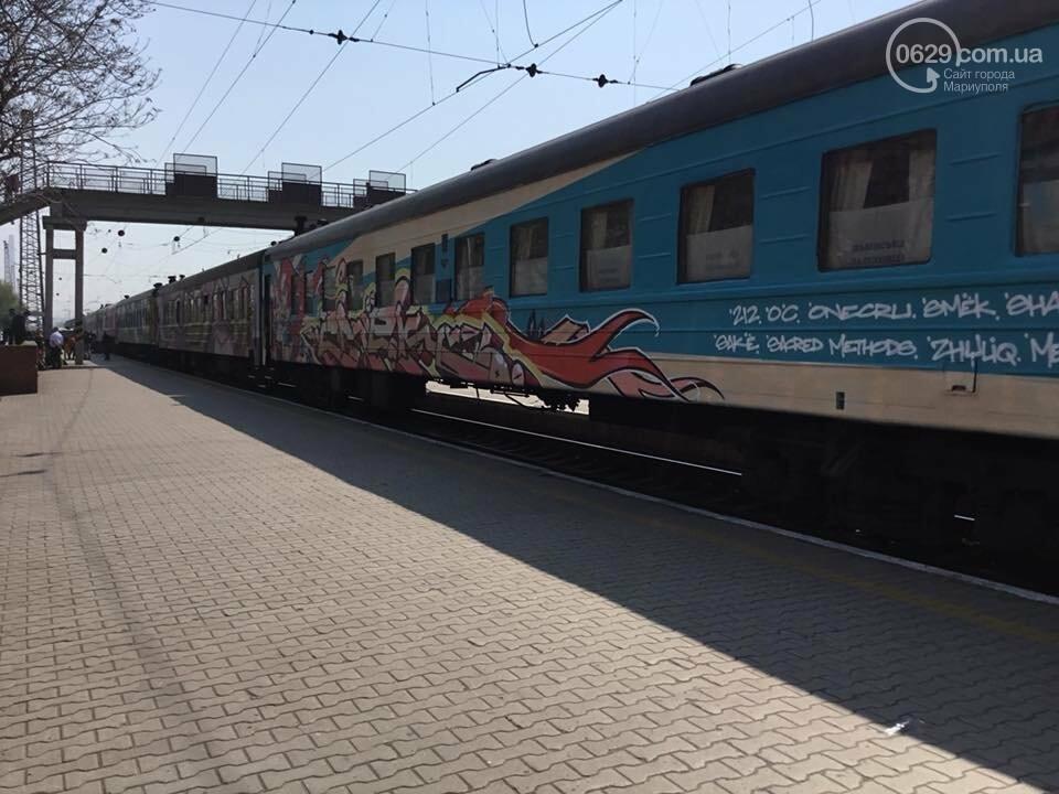 """В Мариуполе  встречали  первый творческий поезд """"Гогольtrain"""",- ФОТО, ВИДЕО, фото-4"""
