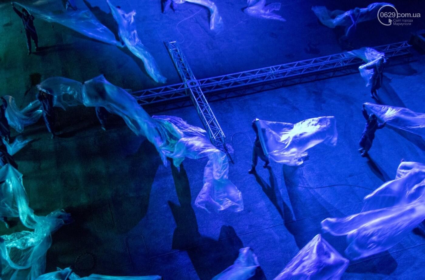 """Гранд-опера """"Νερό"""":  Как мариупольцы """"уходили под воду  и возрождались""""  на  Азовском судоремонтном заводе,- ФОТО, ВИДЕО , фото-5"""