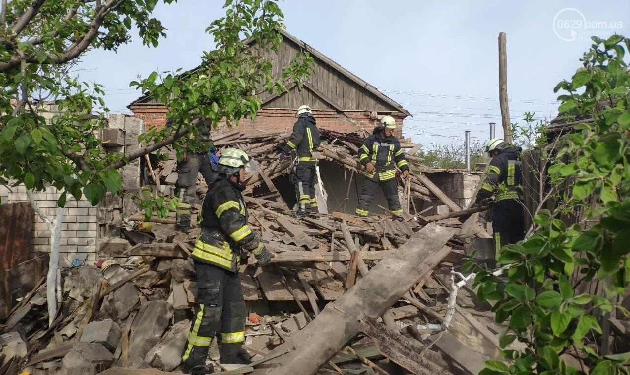 В Мариуполе взорвался жилой дом, - ФОТО, фото-1
