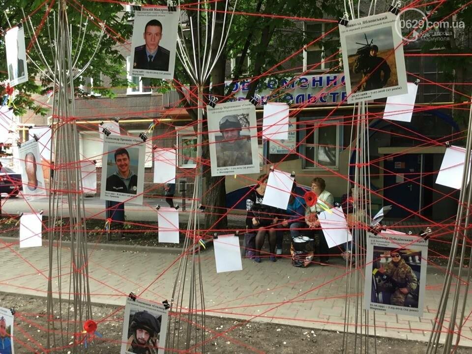 В Мариуполе накануне 9 мая появилась инсталляция с фотографиями погибших в войне с Россией, - ФОТО, ВИДЕО, фото-10