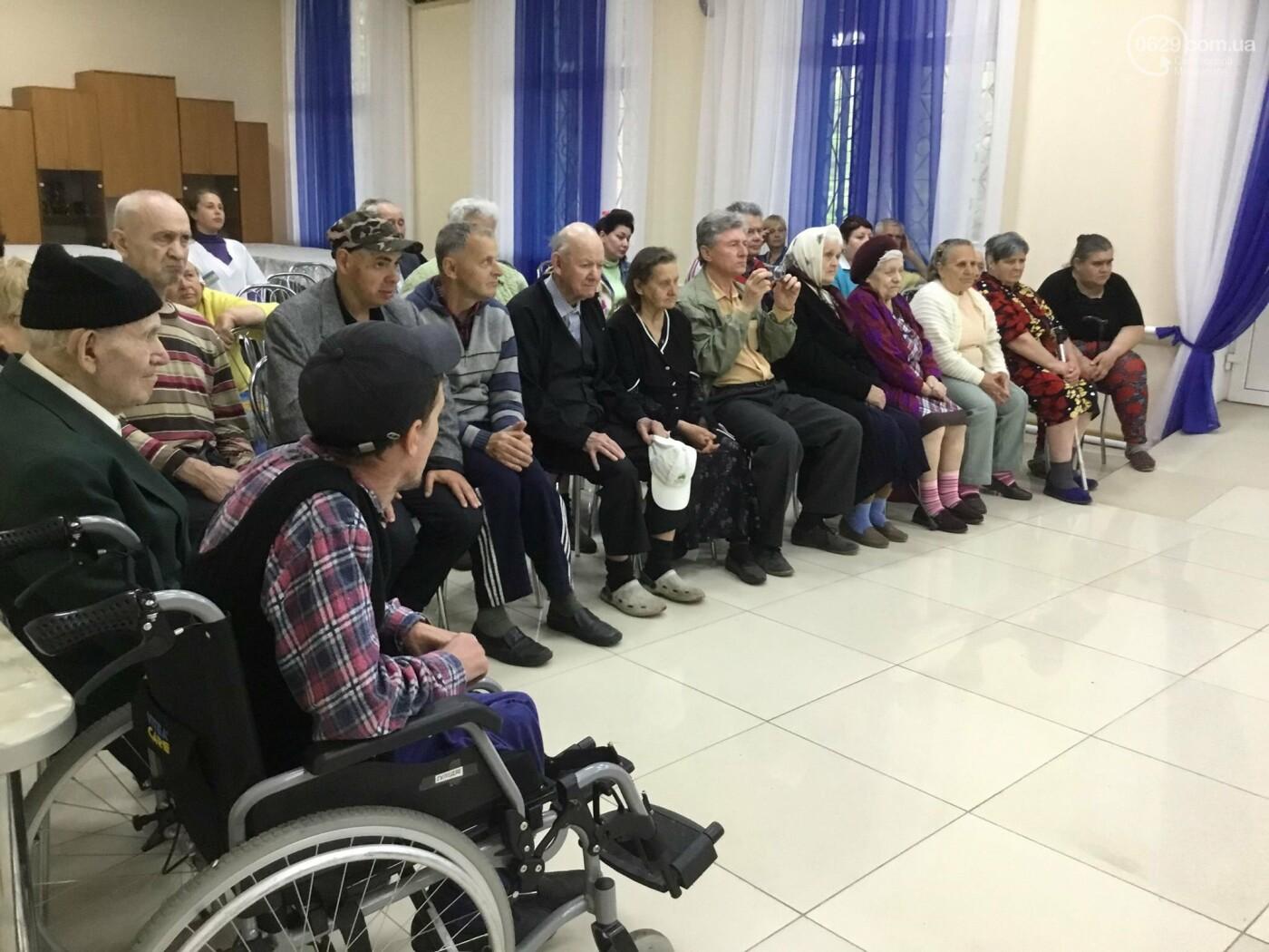 В мариупольском доме ветеранов живет 102-летний пехотинец, - ФОТО, ВИДЕО, фото-11