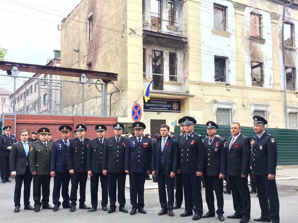 Мэр и начальник полиции Донетчины почтили память погибших возле ГУВД 5 лет назад,- ФОТО, ВИДЕО, фото-5