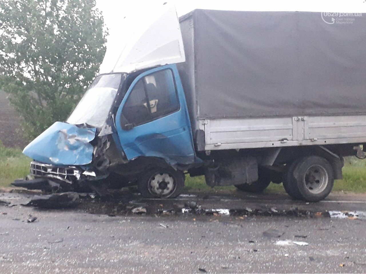 Жуткое ДТП на трассе Мариуполь-Бердянск. Есть погибший, - ФОТО, фото-3