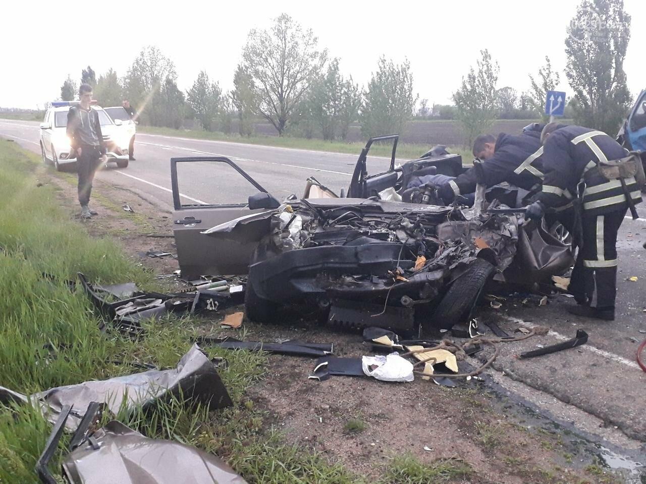 Жуткое ДТП на трассе Мариуполь-Бердянск. Есть погибший, - ФОТО, фото-1