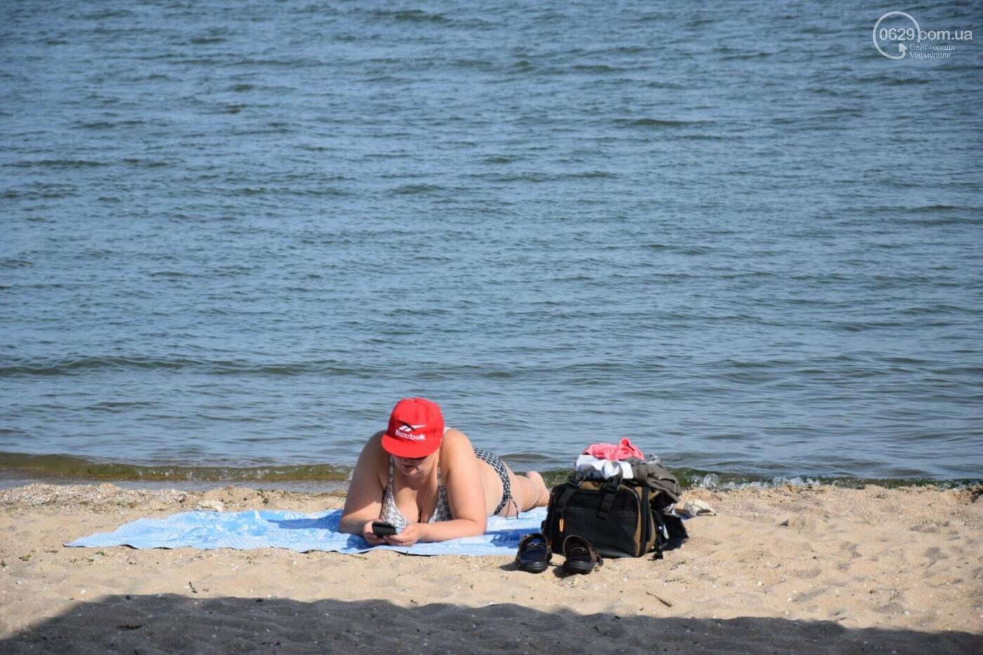 В Мариуполе открылся пляжный сезон, - ФОТОРЕПОРТАЖ, фото-21