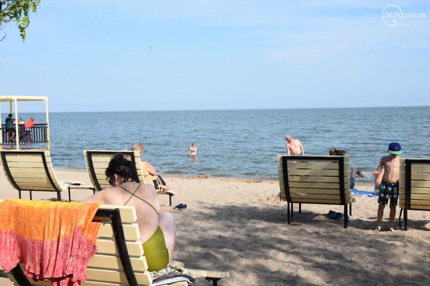 В Мариуполе открылся пляжный сезон, - ФОТОРЕПОРТАЖ, фото-11