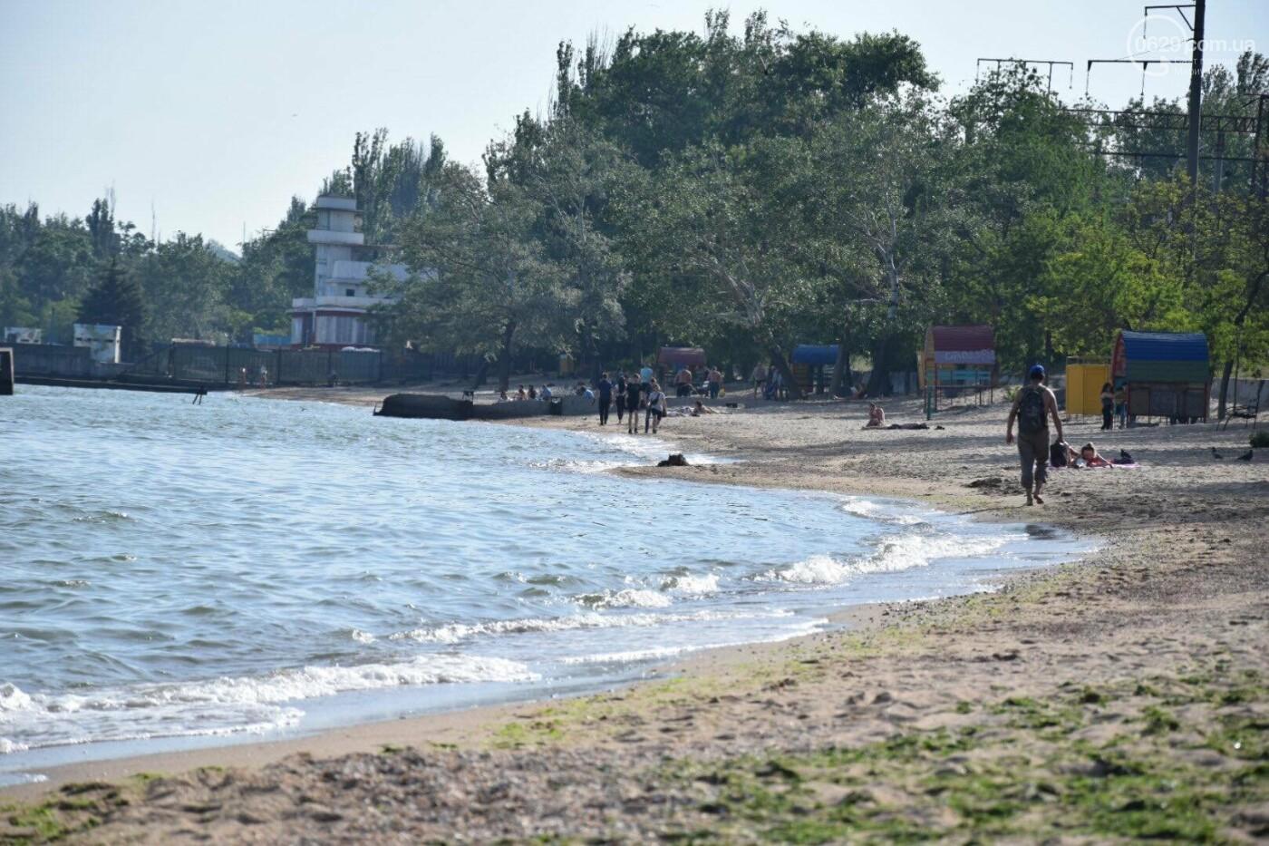 В Мариуполе открылся пляжный сезон, - ФОТОРЕПОРТАЖ, фото-23