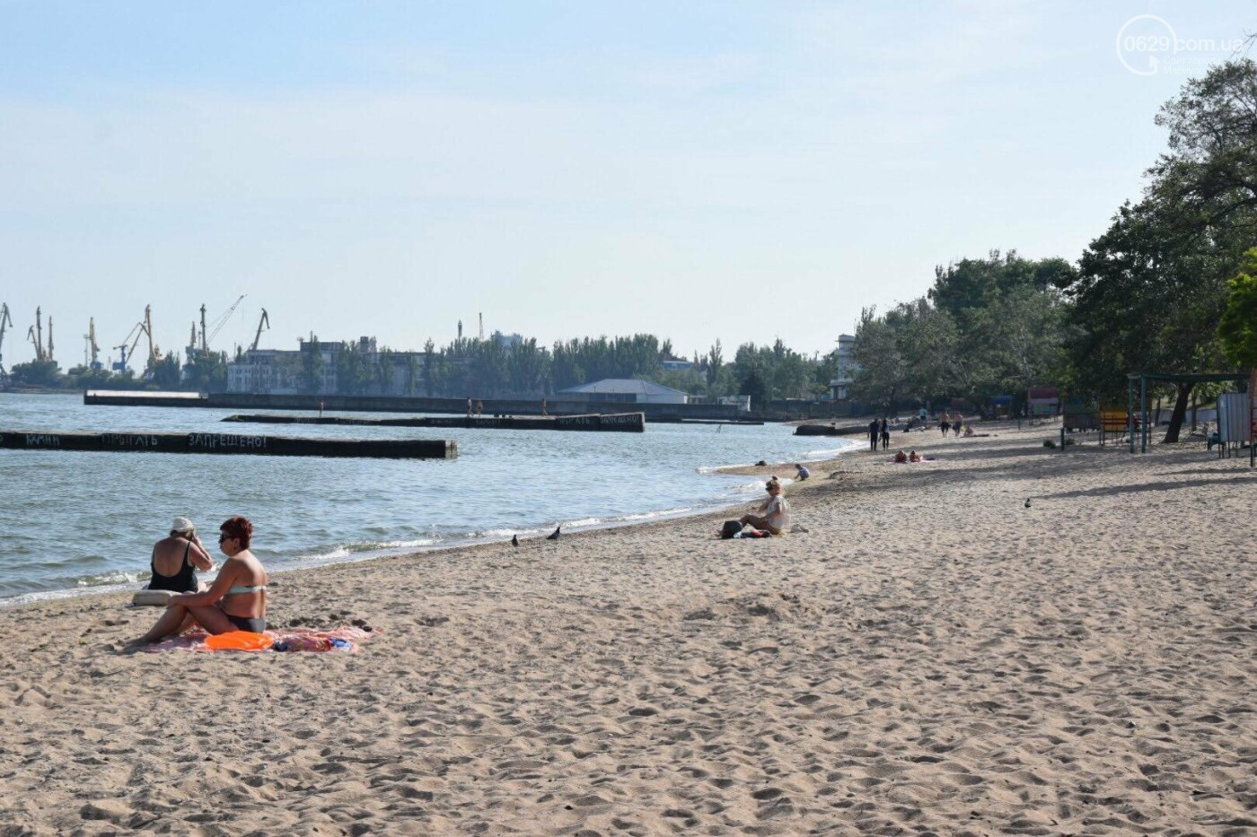 В Мариуполе открылся пляжный сезон, - ФОТОРЕПОРТАЖ, фото-20