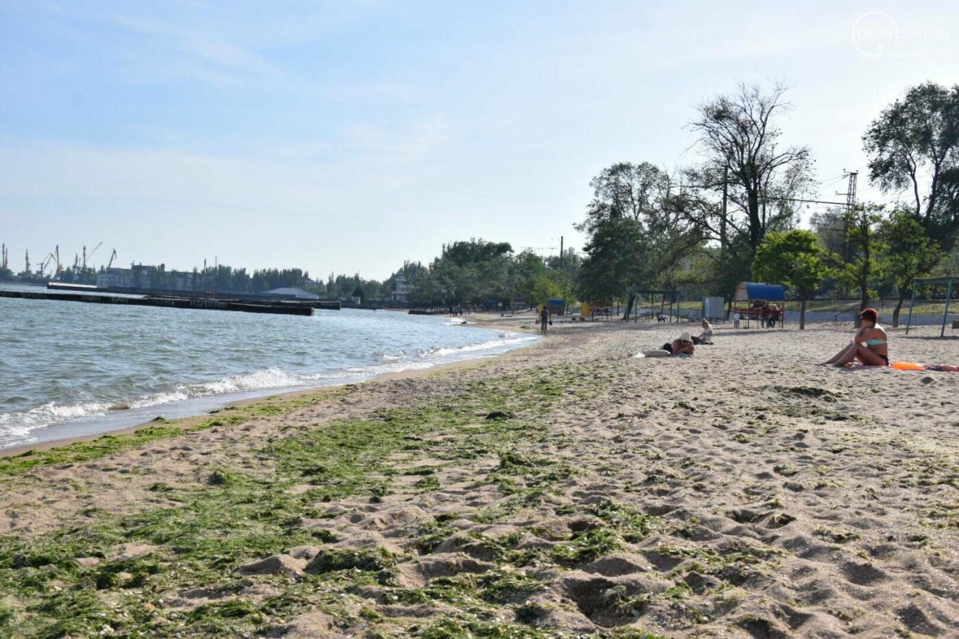 В Мариуполе открылся пляжный сезон, - ФОТОРЕПОРТАЖ, фото-17